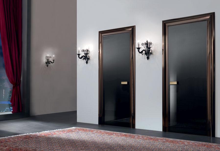 Дверь со стеклом дизайн