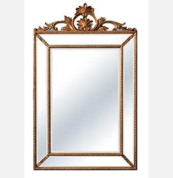 Зеркало в раме Ambren Gold (Амбрен), 90*144 см