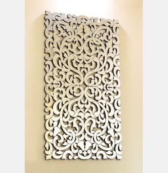 Настенное зеркальное панно Arabesco (Арабеско), 90*154 см