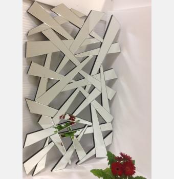 Зеркальное панно Cross (Кросс), 95*150 см