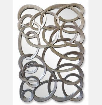 Зеркальное панно Complexity (Комплэксити), 102*155 см