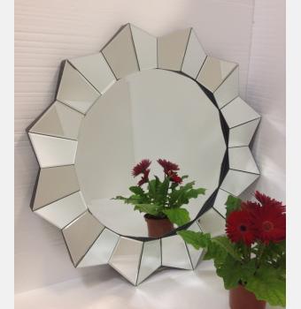 Круглое декоративное зеркало Geom (Геом), Ø90 см
