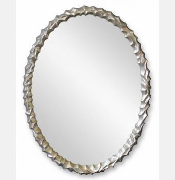 Овальное зеркало в раме Frost (Фрост), 70*90 см