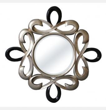 Зеркало в раме модерн Zodiac (Зодиак), 101*101 см