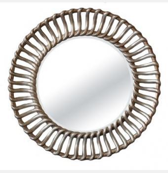 Зеркало в раме модерн Braid (Брэйд), Ø104 см