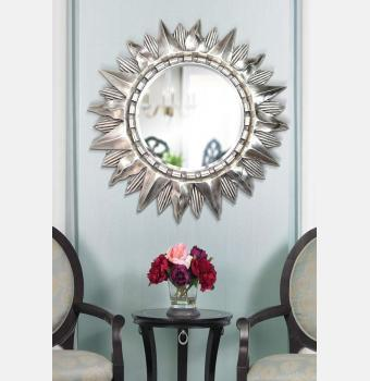 Зеркало-солнце Sol Silver (Солнце), Ø85 см