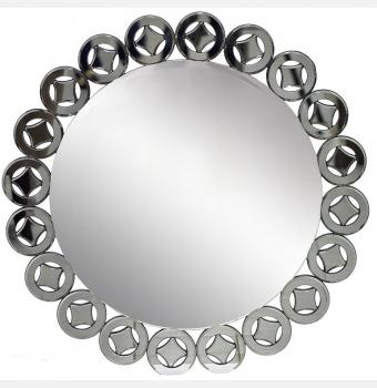Декоративное зеркало Bristol Round (Бристоль), Ø100 см
