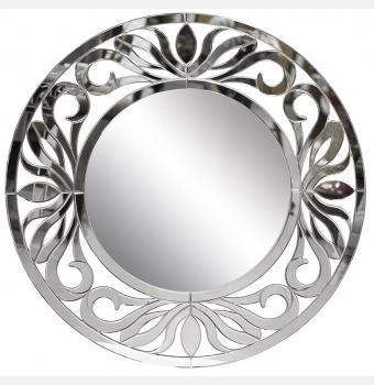 Декоративное зеркало Rosa (Роса), Ø118 см