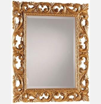 Зеркало в резной раме Oxford Gold (Оксфорд), 90*120 см