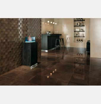 Beige Mystery Lappato, Bronze Mosaico 3D