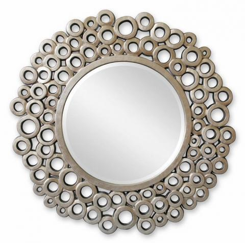 Зеркало в раме модерн Bubbles (Баблс), Ø101 см
